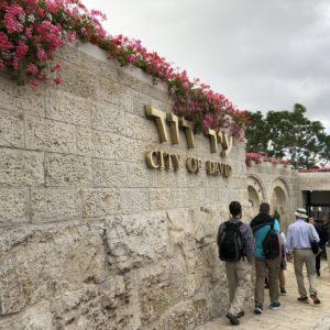 City of David Sign