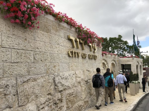 City of David Sign